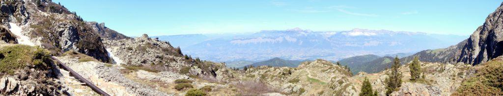 Panoramique - Lac du Crozet (mai 2007)